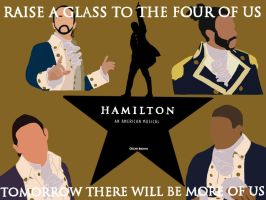 Hamilton, Lafayette, Laurens and Mulligan by Brown-Oscar