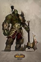 Orc grunt color by LucSalcedo