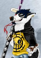 Trafalgar Law by DragonlordRynn
