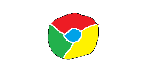 Logo Google chrome : Day 18 by Addict2Draw