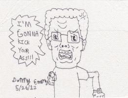 Pissed off Hank Hill by Dancrew2010