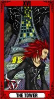 KH Tarot: The Tower by way2thedawn
