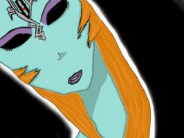 Midna True Form -Comish- by nokel
