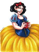 Snow White by msciuto