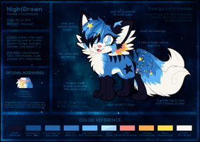 Ref Sheet: NightDrown by Nighttame