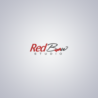 Red Bow Logo Design by LEDPOISON