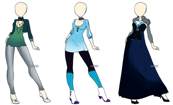 Fashion Adoptables 3 - CLOSED by Karijn-s-Basement