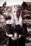 Mother Of Dragons by Portizpjo