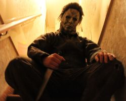 Michael Myers Stairway to hell by DeeMelino