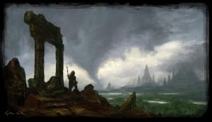 SP - View from the Ruins by godofwar