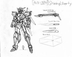 AVX-004 Shining Liberty by Linkinpark30101