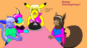 Happy Thanksgiving by Luigirocks84