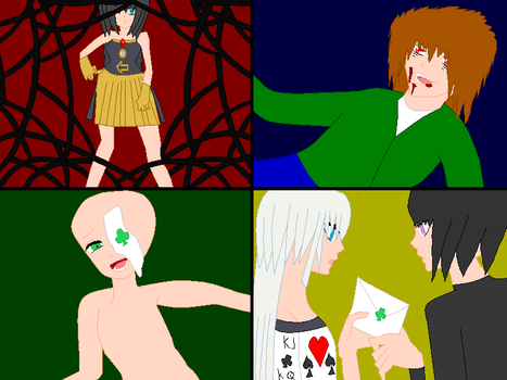 the four alice collab by NightSilverChelly