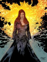 The Inferno Power Of Jean Grey by Knockoutcomicsbook