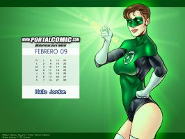 Halle Jordan - Green Lantern by PortalComic