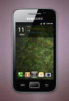 Samsung Galaxy Ace by ybres