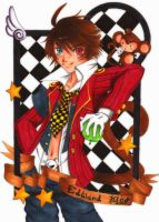 ::Monkey-verse Cards:: Edward by shiorimaster