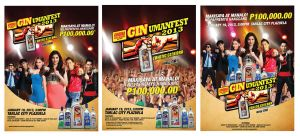 GSM Ginuman Fest 2013 - Poster Options by emina24