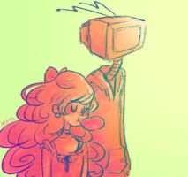 tv head by mayakern