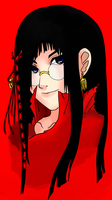 The Lady in Red by DelanieTrigun