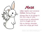 MUSE - The flutterby bunny by BeckyBumble