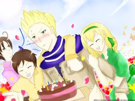 Neth's Birthday by ver-ichihara