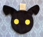 Kingdom Hearts: Shadow Heartless Zipper Pouch by sugarstitch