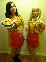 2 Broke Girls by Actor949