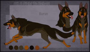 STS Dog - Buran by ShockTherapyStables