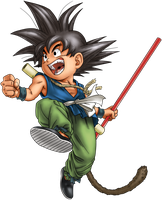 Dragon Ball - kid Goku 29 by superjmanplay2