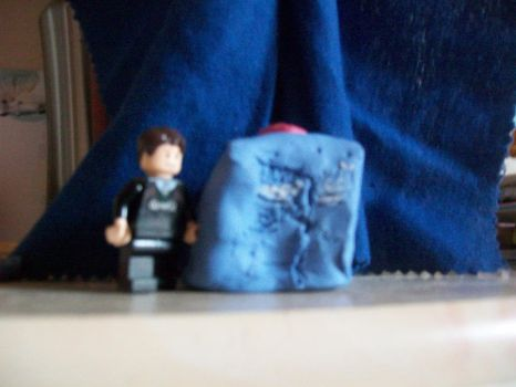 The lego doctor and the tardis by tardischow33