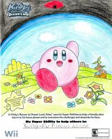 Kirby Coloring Sheet by ChinoKnight