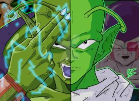 Anime Duality - Piccolo and Nail by OptimumBuster