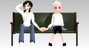[ MMD ] Pose Practice: Chubby Friends by pdiddy200