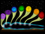 The Seven Chakras by Nylten