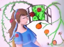 Oranges and Roses by silente64