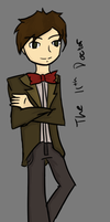 The 11th Doctor by MinecraftWarfare