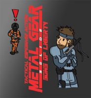 METAL GEAR SOLID 2 - DOODLE by kit07