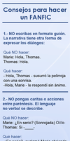 Consejos para hacer un FANFIC by Angelus19