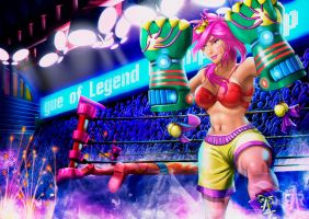 LEAGUE OF LEGENDS: VI by marmo98