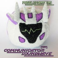 Puggleformers - Communicator Soundwave by callykarishokka