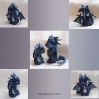 Little Blue Dragon- Custom by BittyBiteyOnes