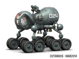 Land vehicle with rocket jump assistance by CUTANGUS