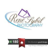 logo for a photographer by one8edegree