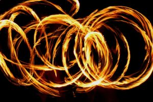 Fire play by GuldorPhotography