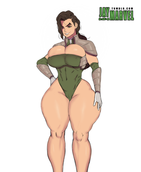 Kuvira Redraw by Jay-Marvel