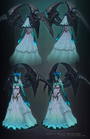 Ghost Bride Morgana breakdown by MissMaddyTaylor