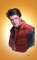 Marty McFly by DavidSeguin