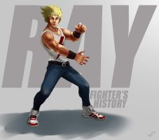 Fighter's History Ray by victter-le-fou