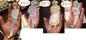 PAPER DOLL COMMISSIONS by sock-eating-ninjas